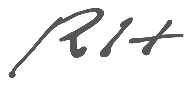 Richard Hirschbäck signature